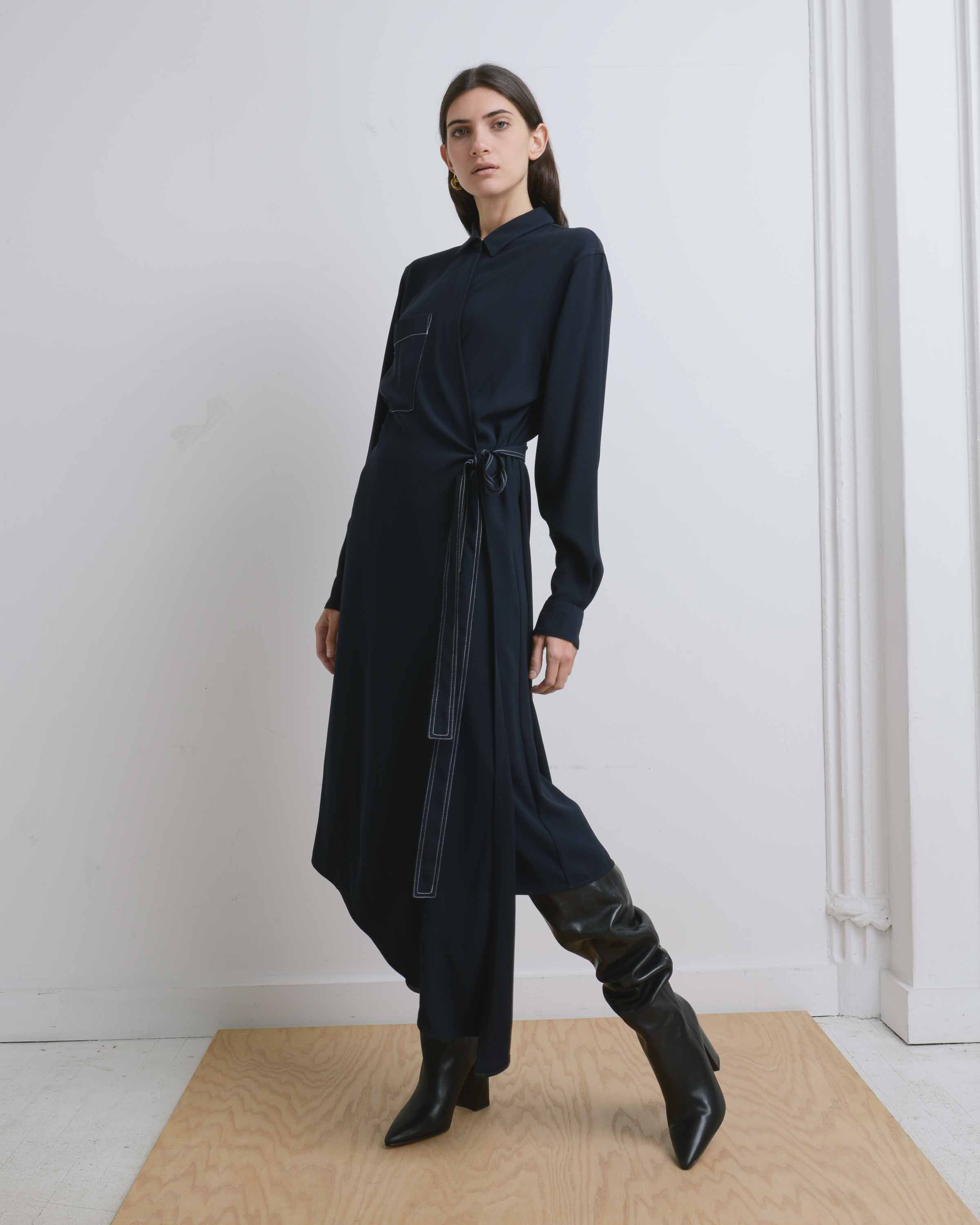 Yune Ho FW19 Esther Shirt Dress
